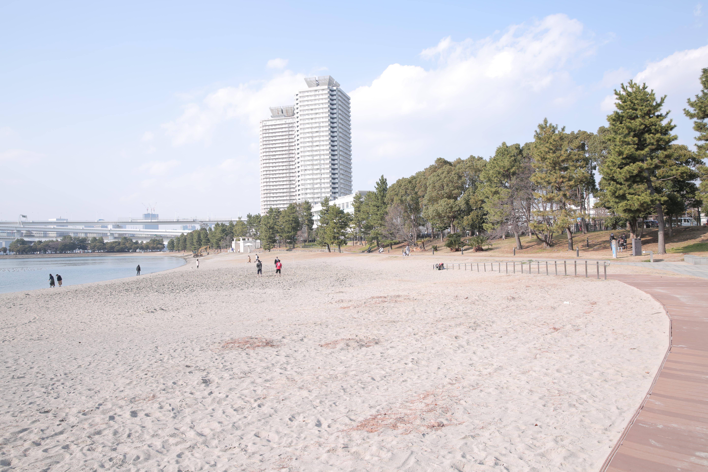 羽音まゆ @お台場海浜公園
